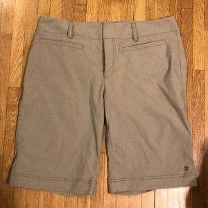 Athleta size 12 khaki shorts